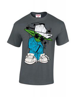 B-Boy-Yoda Charcoal-Grey
