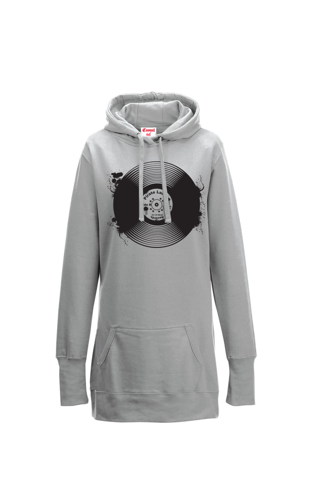 record long hoodie womens