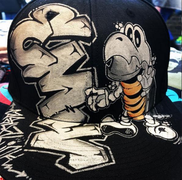 Graffiti Style Hats
