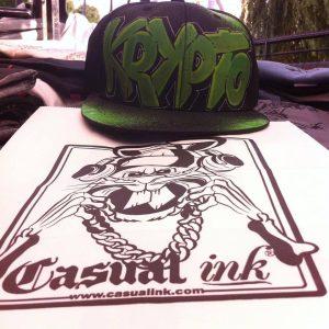 Custom Prints Graffiti Style Hats
