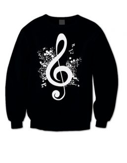 music-note-jumper-black