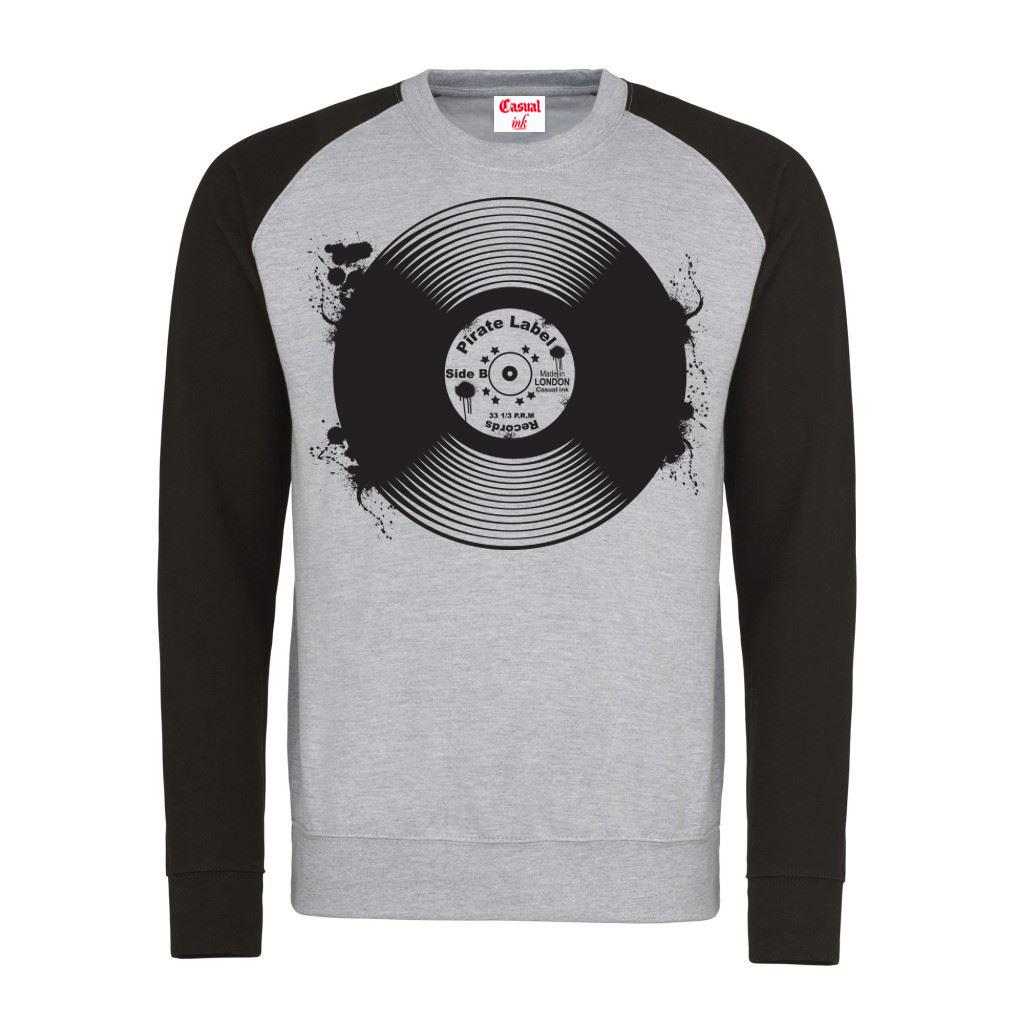 Record-Jumper(Baseball-GreyBlack)