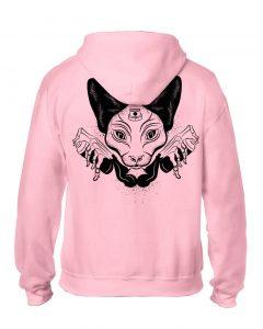 9 Lives Hoodie Pink