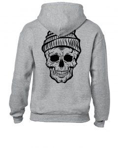 Death of Cold Hoodie grey