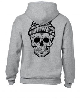 Death of Cold Hoodie grey