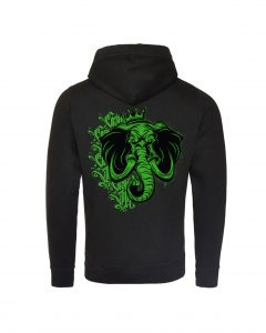 The Green King Cross Over Hoodie