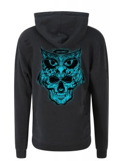 Wise of Death Distressed Hoodie